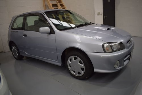 1999 Toyota Starlet 1.3 Glanza V Turbo 4000 MILES For Sale (picture 1 of 6)