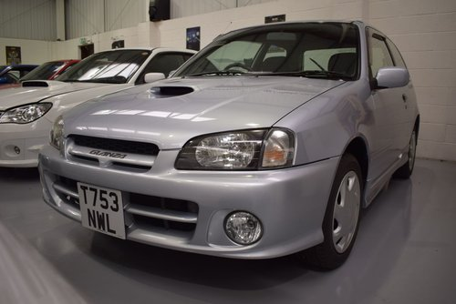 1999 Toyota Starlet 1.3 Glanza V Turbo 4000 MILES For Sale (picture 2 of 6)