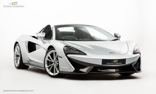 2018 MCLAREN 570S SPIDER // 1K MILES // MCLAREN WARRENTY // VAT Q For Sale (picture 1 of 6)