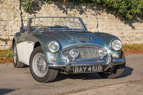 1964 Austin Healey 3000 MkIII BJ8 Phase II | Original RHD & Blue SOLD (picture 1 of 6)