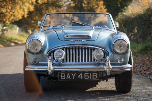 1964 Austin Healey 3000 MkIII BJ8 Phase II | Original RHD & Blue SOLD (picture 2 of 6)