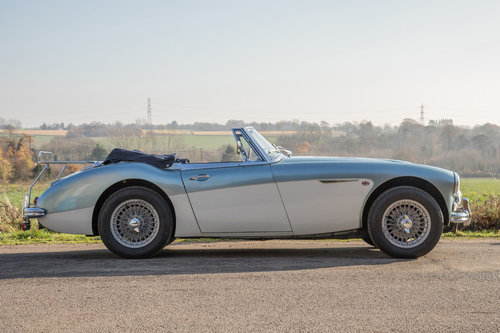 1964 Austin Healey 3000 MkIII BJ8 Phase II | Original RHD & Blue SOLD (picture 3 of 6)