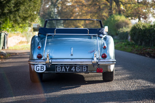 1964 Austin Healey 3000 MkIII BJ8 Phase II | Original RHD & Blue SOLD (picture 4 of 6)