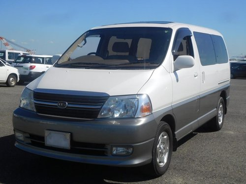 2001 Toyota Granvia Q - Twin Side Doors, Ultra Low Mileage SOLD (picture 1 of 6)