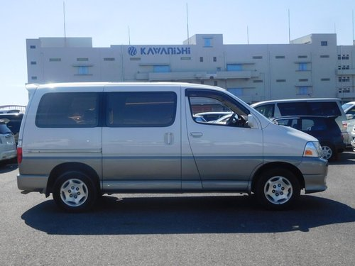 2001 Toyota Granvia Q - Twin Side Doors, Ultra Low Mileage SOLD (picture 4 of 6)