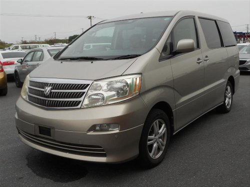 2003 Toyota Alphard AX L Edition **Low mileage* SOLD (picture 1 of 6)