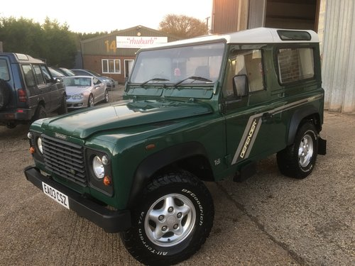 LAND ROVER 90 TD5 GENUINE STATION WAGON For Sale (picture 2 of 6)