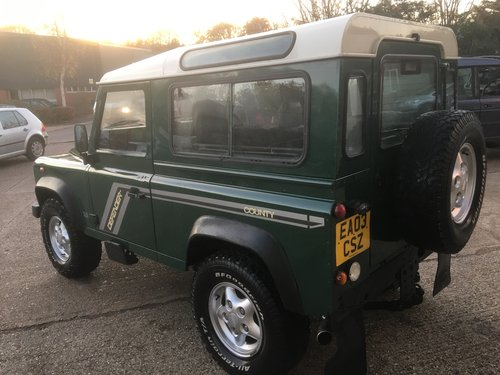 LAND ROVER 90 TD5 GENUINE STATION WAGON For Sale (picture 4 of 6)