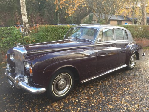 1965 Bentley S3 Saloon. SOLD (picture 1 of 6)