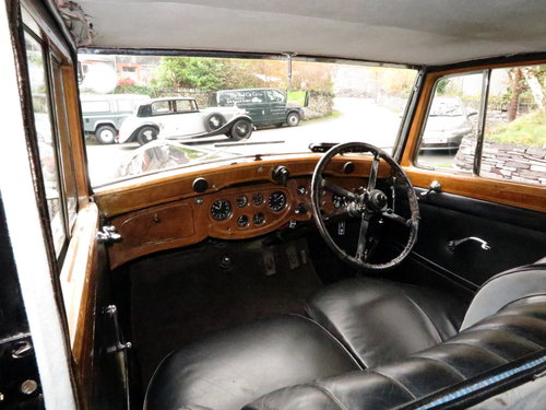 1936 Rolls-Royce 25/30 H.J. Mulliner Sports Saloon GTL68 For Sale (picture 4 of 6)