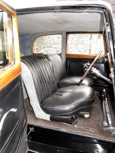 1936 Rolls-Royce 25/30 H.J. Mulliner Sports Saloon GTL68 For Sale (picture 5 of 6)