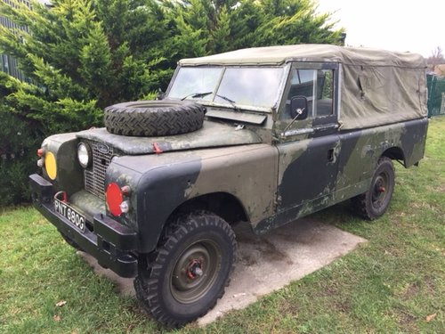 LAND ROVER 109  1968  EX MILITARY LAND ROVER TAX EXEMPT  SOLD (picture 1 of 5)
