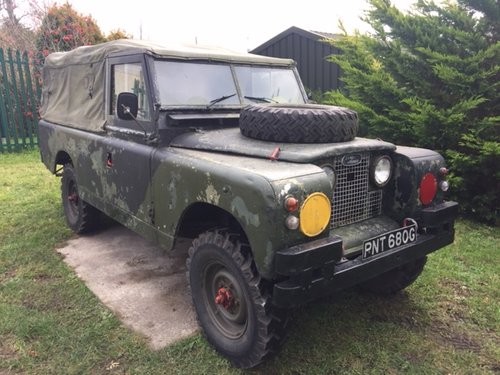 LAND ROVER 109  1968  EX MILITARY LAND ROVER TAX EXEMPT  SOLD (picture 4 of 5)