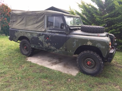 LAND ROVER 109  1968  EX MILITARY LAND ROVER TAX EXEMPT  SOLD (picture 5 of 5)
