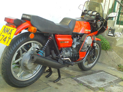 1979 MOTO GUZZI LE MANS MK2 CX100 SALE!!!! SOLD (picture 2 of 6)