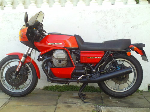 1979 MOTO GUZZI LE MANS MK2 CX100 SALE!!!! SOLD (picture 3 of 6)