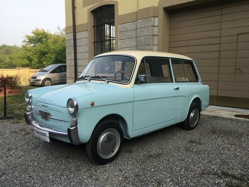 1966 Autobianchi Bianchina Panoramica - Vers. Bicolor  For Sale (picture 2 of 6)
