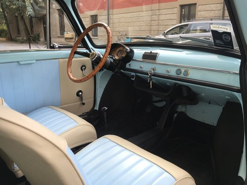 1966 Autobianchi Bianchina Panoramica - Vers. Bicolor  For Sale (picture 4 of 6)