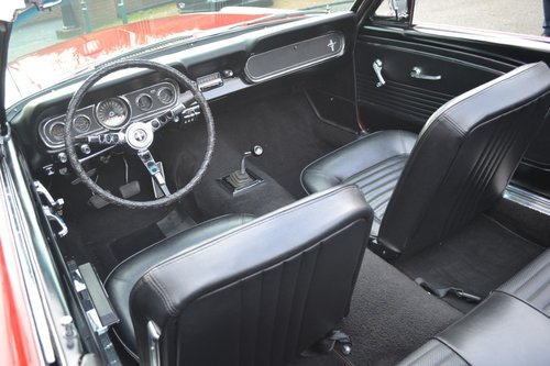 1966 Ford Mustang Convertible 289 V8 For Sale (picture 4 of 6)