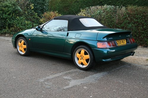 1996 Lotus Elan S2 Jim Clark Special Edition SOLD (picture 3 of 6)