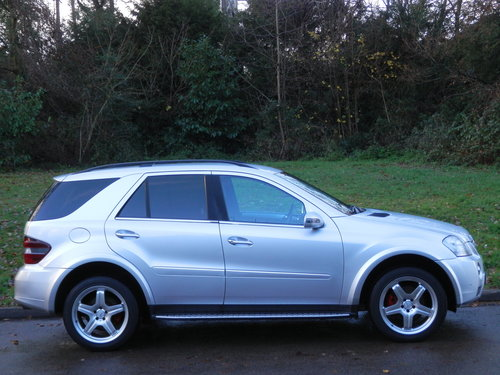 Mercedes ML280 CDi Sport.. Rare Factory AMG Spec.. FSH SOLD (picture 6 of 6)
