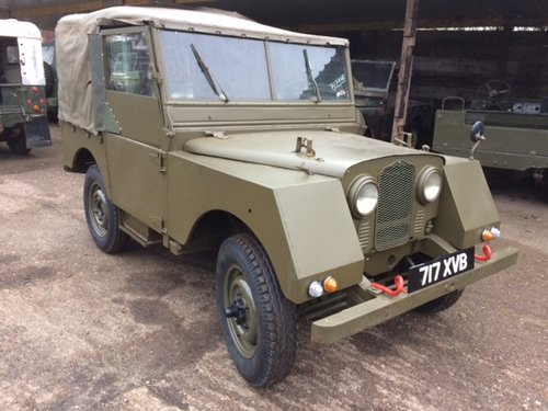 1953 Minerva Jeep - Based on Land Rover Series 1 80 inch For Sale (picture 1 of 4)