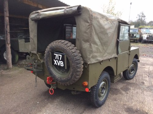 1953 Minerva Jeep - Based on Land Rover Series 1 80 inch For Sale (picture 2 of 4)