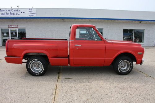 Extremley Clean, No rust, Great Build! 1970 GMC C15 Shortbox For Sale (picture 1 of 6)