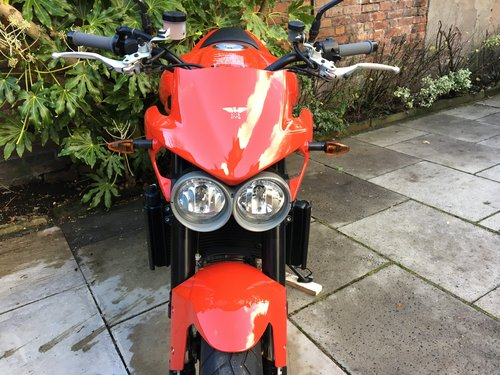2009 Moto Morini Corsaro 1200 Veloce, Exceptional Condition SOLD (picture 3 of 6)