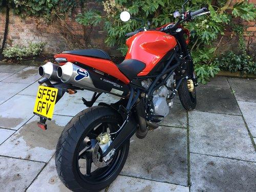 2009 Moto Morini Corsaro 1200 Veloce, Exceptional Condition SOLD (picture 4 of 6)