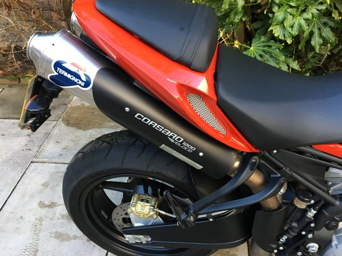 2009 Moto Morini Corsaro 1200 Veloce, Exceptional Condition SOLD (picture 6 of 6)