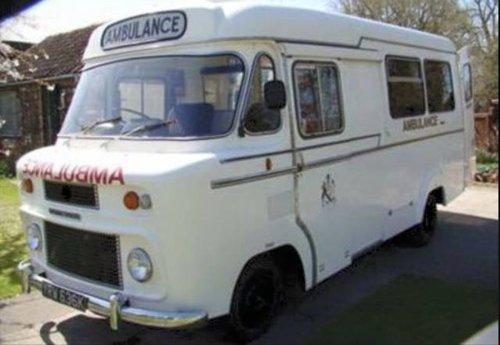 1971 VINTAGE BMC AMBULANCE For Sale (picture 2 of 6)