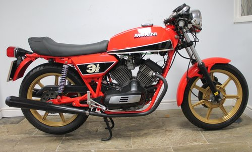 1980 Moto Morini 350 cc or three and a half Sport V Twin SOLD (picture 1 of 6)