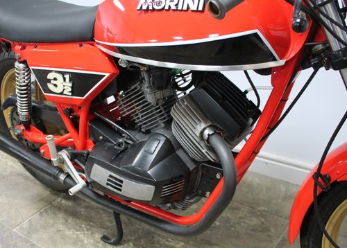 1980 Moto Morini 350 cc or three and a half Sport V Twin SOLD (picture 3 of 6)