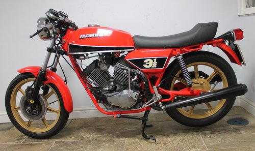 1980 Moto Morini 350 cc or three and a half Sport V Twin SOLD (picture 4 of 6)