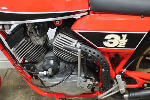 1980 Moto Morini 350 cc or three and a half Sport V Twin SOLD (picture 5 of 6)