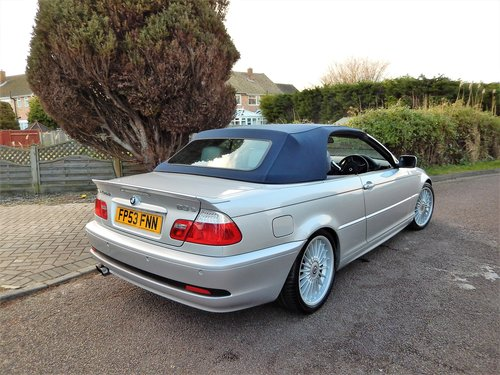 2004 Alpina B3 S 3.4 convertible -- Immaculate cherished car SOLD (picture 4 of 6)