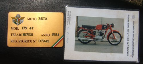 1954 INCREDIBLE RACING PROVENANCE & HISTORY IN ITALY For Sale (picture 4 of 4)