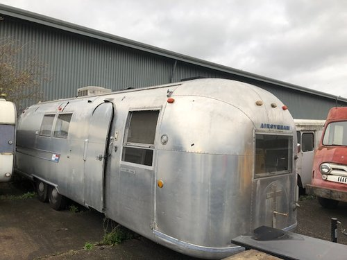 1968 Vintage American Airstream Trailer For Sale | Car And