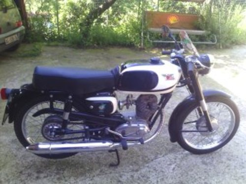 1962 Moto Morini Corsaro 125 cc black For Sale (picture 1 of 2)