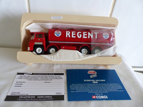 GUY INVINCIBLE TANKER-REGENT OIL COMPANY 1:50 For Sale (picture 2 of 5)