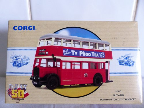 GUY ARAB BUS-SOUTHAMPTON CITY TRANSPORT 1:50 For Sale (picture 1 of 6)