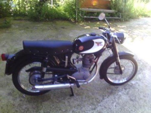 1958 MOTO MORINI SBARAZZINO 60 BLACK 98 CC For Sale (picture 1 of 3)