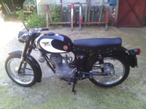 1958 MOTO MORINI SBARAZZINO 60 BLACK 98 CC For Sale (picture 2 of 3)