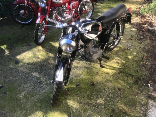 1958 MOTO MORINI SBARAZZINO 60 BLACK 98 CC For Sale (picture 3 of 3)