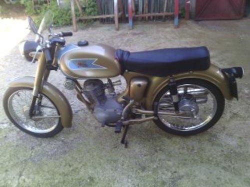 1958 MOTO MORINI SBARAZZINO 60 GOLD 98 CC For Sale (picture 2 of 3)