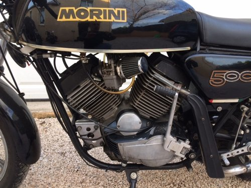 1979 Moto Morini 500 Sport For Sale (picture 4 of 5)