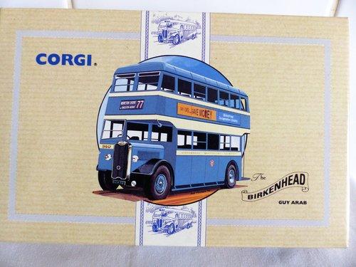 GUY ARAB BUS-BIRKENHEAD CORPORATION TRANSPORT For Sale (picture 1 of 6)
