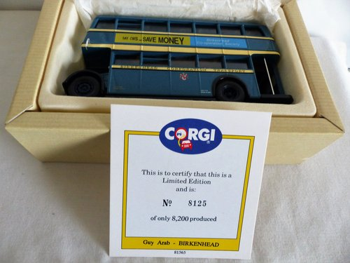 GUY ARAB BUS-BIRKENHEAD CORPORATION TRANSPORT For Sale (picture 4 of 6)