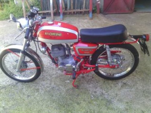 1970 MOTO MORINI Corsaro 125 cc Super Sport For Sale (picture 1 of 4)
